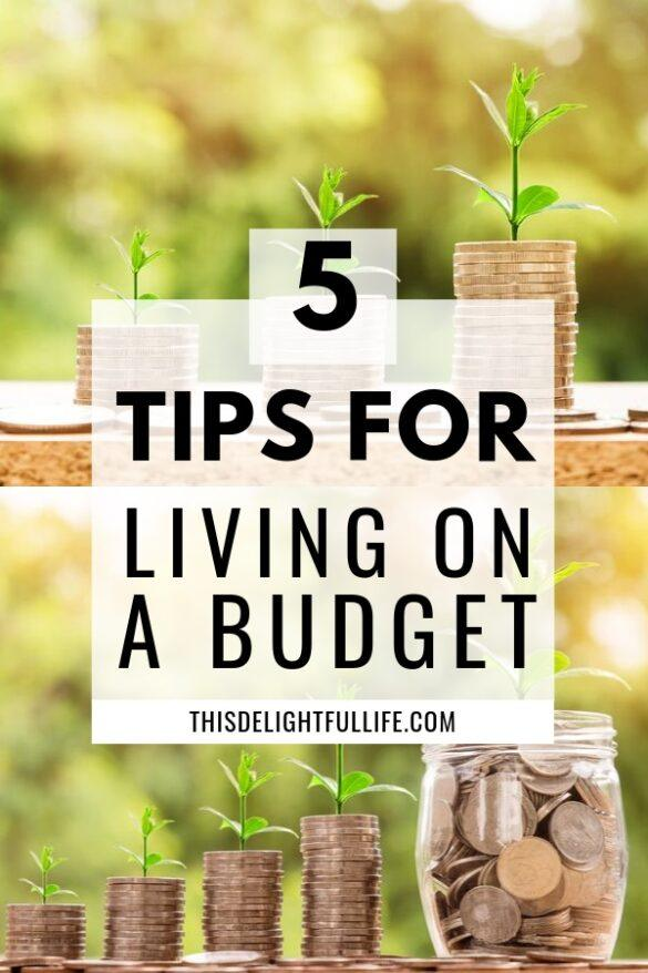 5 Simple Tips To Follow When You Live On A Budget - It is always a good idea to save money - and living on a budget doesn't have to be a struggle. With these tips on how to live on a budget you will be sure to keep your expenses in check.