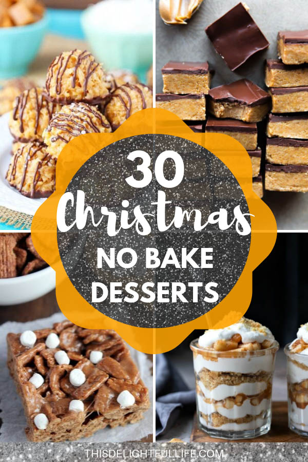These no bake Christmas desserts are not only delicious but quick and easy to make too! They are so good that nobody will ever know they took almost no time at all to make!