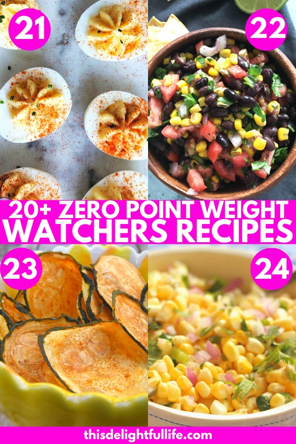 24 Zero Point Weight Watchers Recipes - Enjoy these delicious zero point Weight Watchers recipes without guilt. These recipes are perfect for days when you go over your daily points and need a zero point meal to stay on track.