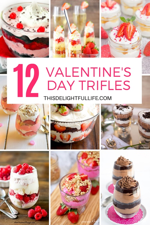 Enjoy these quick and easy Valentine's day trifles this Valentine's day! Simple and easy to make but super delicious and great for all ages!