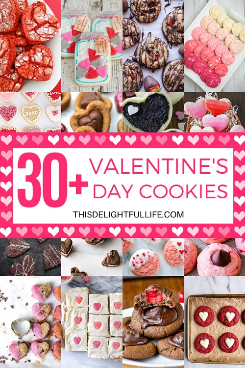 Not only are these Valentine's day cookies delicious and festive, they are the perfect dessert to bring to a Valentine's Day party, or gift to loved ones!